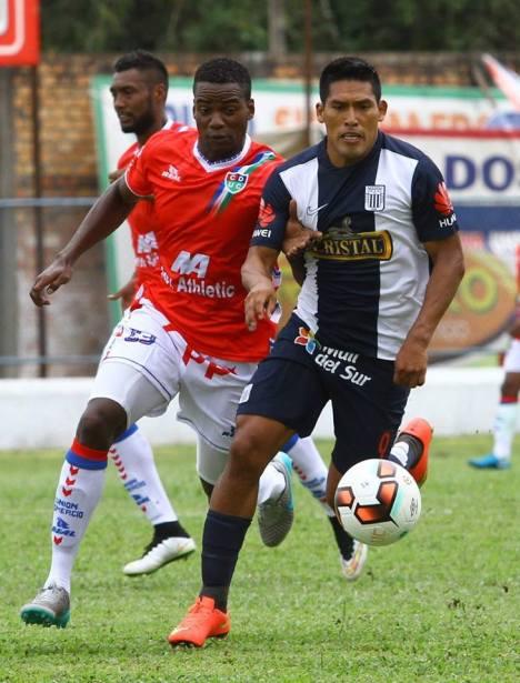 Andy Pando anota su segundo gol con Alianza Lima (Foto: Ovación Digital).